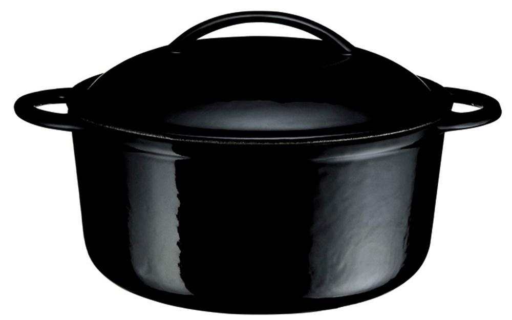 cocotte en fonte noire
